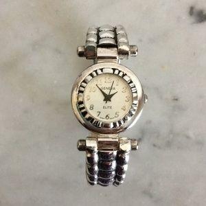 Cuff w/ Hinge Watch Bracelet